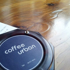 Photo taken at Coffee Urban by 츄 여. on 3/3/2013