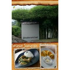 Photo taken at Kopi Selasar Sunaryo Cafe and art Galery. by Michael K. on 2/24/2014