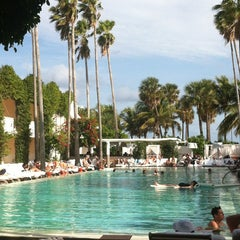 Photo taken at Delano South Beach by Savvy C. on 12/24/2012