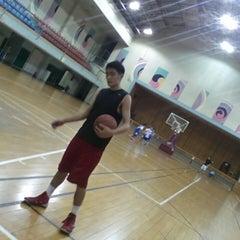 Photo taken at YMCA LH 스포츠센터 by Jake K. on 8/30/2014