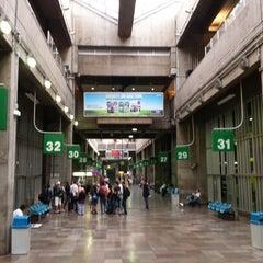 Photo taken at Terminal Rodoviário Tietê by Richard M. on 9/22/2013
