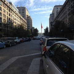 Photo taken at Paseo Bulnes by Raul S. on 4/7/2013