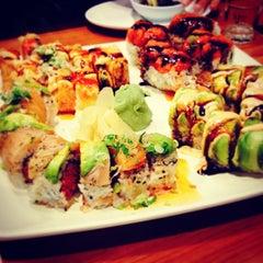 Photo taken at Miso Sushi by Louis B. on 5/11/2014