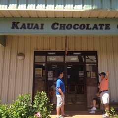 Photo taken at Kauai Chocolate Company by Jodi U. on 10/20/2013
