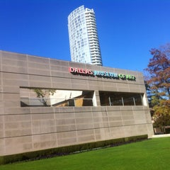 """Photo taken at Dallas Museum of Art by Stephanie """"Brock"""" B. on 12/13/2012"""