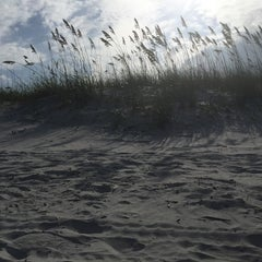 Photo taken at Jax Beach At South 15th Ave by Bretton T. on 7/26/2015