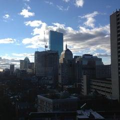 Photo taken at Courtyard Boston Downtown / Tremont by Greg on 11/3/2012