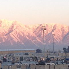 Photo taken at Bagram Airfield (OAI) by Anandaraj S. on 1/19/2013