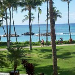 Photo taken at Marriott's Ko Olina Beach Club by Cameron C. on 11/14/2012