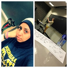 Photo taken at University of Michigan Dearborn by Fatima T. on 5/17/2013