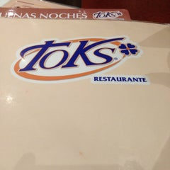 Photo taken at Toks by Raúl D. on 2/3/2013