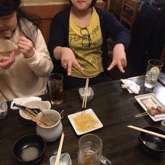 Photo taken at もつやき処 い志井 本店 by Ishida A. on 4/11/2015