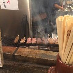 Photo taken at もつやき処 い志井 本店 by Ishida A. on 7/1/2015