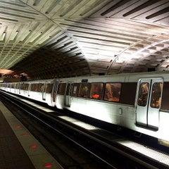 Photo taken at WMATA Red Line Metro by Jason P. on 9/23/2014