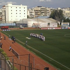 Photo taken at Γηπεδο Πανιωνιου by Georgios ®. on 2/10/2013