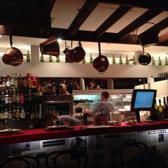 Photo taken at Andre's Cucina & Polenta Bar by Thomas J. on 10/2/2013