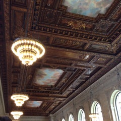 Photo taken at Rose Main Reading Room by Aaron M. on 5/13/2014