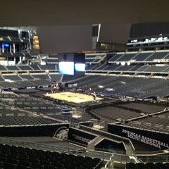 Photo taken at AT&T Stadium by Edward M. on 3/28/2013