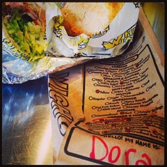Photo taken at Which Wich? Superior Sandwiches by Dora S. on 8/1/2014