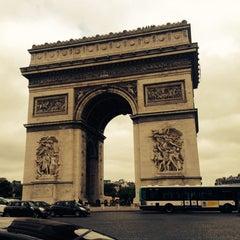 Photo taken at Mercure Paris Champs-Élysées by Ulviye C. on 6/17/2014