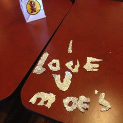 Photo taken at Moe's Southwest Grill by Hoptrollop O. on 11/24/2013