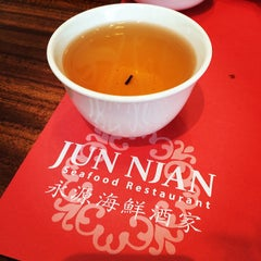 Photo taken at Jun Njan Restaurant by Sammy M. on 8/30/2014