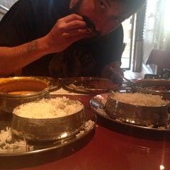 Photo taken at Masala Restaurant by Lauren B. on 6/25/2014
