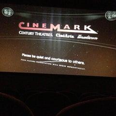 Photo taken at Cinemark Movies 14 by William G. on 4/20/2013