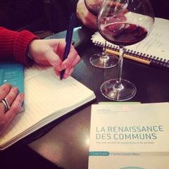 Photo taken at Café Le Saint-Lazare by Sylvia F. on 2/24/2014