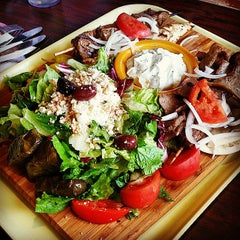 Photo taken at Papouli's Greek Grill by HajarChi on 9/13/2014
