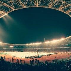Photo taken at Stadion Utama Gelora Bung Karno (GBK) by afiat on 7/19/2013