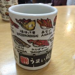 Photo taken at うまい鮨勘 築地市場店 by Angie P. on 9/1/2015