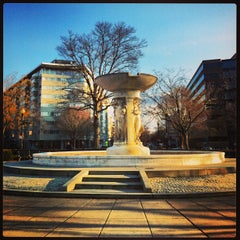 Photo taken at Dupont Circle by Isa L. on 2/20/2013