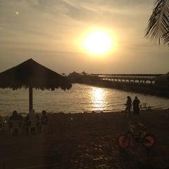 Photo taken at Blue Beach Resorts || شاليهات الشاطئ الأزرق by Tahani A. on 10/19/2012