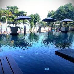 Photo taken at Anantara Seminyak Bali Resort & Spa by BurhanAbe on 6/22/2013