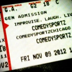 Photo taken at ComedySportz Theatre by Danu A. on 11/10/2012