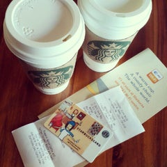 Photo taken at Starbucks by Danielle on 9/29/2012