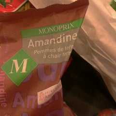Photo taken at Monoprix by Jerome K. on 2/25/2013
