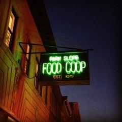 Photo taken at Park Slope Food Coop by Kat E. on 12/6/2012
