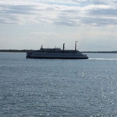 Photo taken at On the Cross Sound Ferry: Orient - New London by Ray C. on 6/27/2014