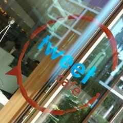 Photo taken at Tweet Cafè by Sara R. on 9/11/2013