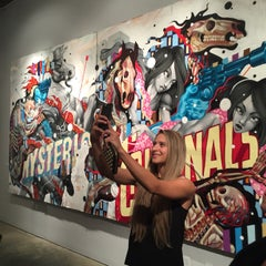 Photo taken at Long Beach Museum of Art by Thirsty J. on 6/27/2015