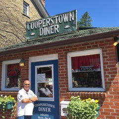 Photo taken at Cooperstown Diner by Matt M. on 7/24/2015