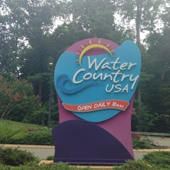 Photo taken at Water Country USA by Edgar L. on 7/28/2013