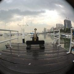 Photo taken at Manila Yacht Club by Jing M. on 1/10/2013