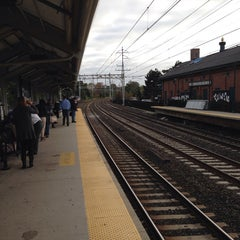 Photo taken at Metro North - Milford Train Station by Joe G. on 10/11/2013