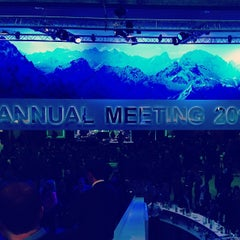 Photo taken at World Economic Forum (WEF) by Laura N. on 1/22/2014
