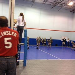 Photo taken at Volleyball Institute of Plano by Varsha S. on 12/15/2012