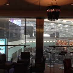 Photo taken at BA Galleries First Lounge by Robert T. on 7/11/2013