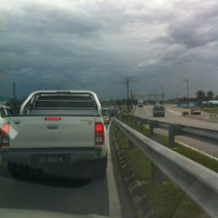 Photo taken at Flyover Petagas by Diana D. on 12/22/2012